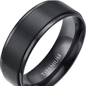 🌸 8mm Titanium Wedding Ring🌸